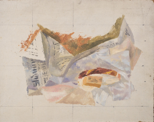 Reginald-Brill: Unfinished-study-for-the-Breakfast-Table